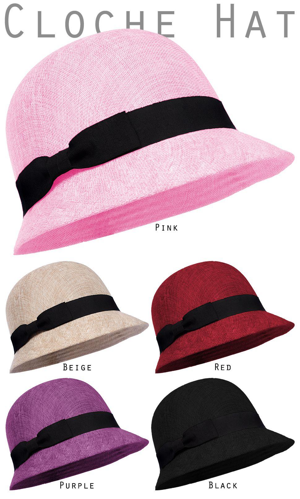 c5606a3c51f69 Cloche Hat for Women Cambric Linen Gatsby Bucket Bowler Church Cool ...